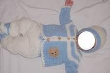 Makerist - Ensemble au crochet pour bébé  - 1