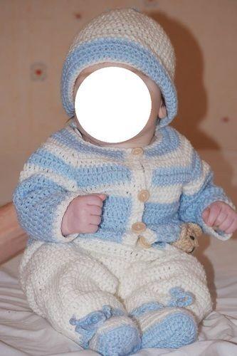 Makerist - Ensemble au crochet pour bébé  - Créations de crochet - 3