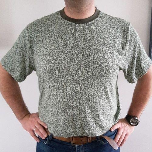 Makerist - Shirt Rio für Männer in grün - Nähprojekte - 1