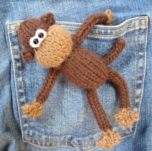 Makerist - Pocket Monkey - Knitting Showcase - 1