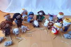 Makerist - an der Weihnachtskrippe - 1