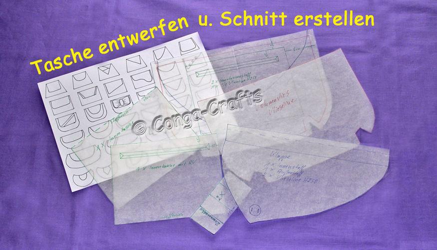 Makerist - DIY - Entwerfen u. Schnitt erstellen einer Handtasche mit Klappe - Nähprojekte - 1