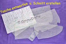Makerist - DIY - Entwerfen u. Schnitt erstellen einer Handtasche mit Klappe - 1