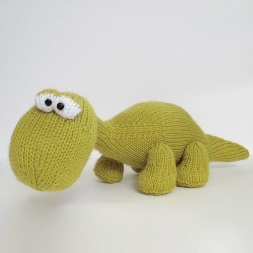 Makerist - Trex and Bronty Dinosaurs - Knitting Showcase - 2
