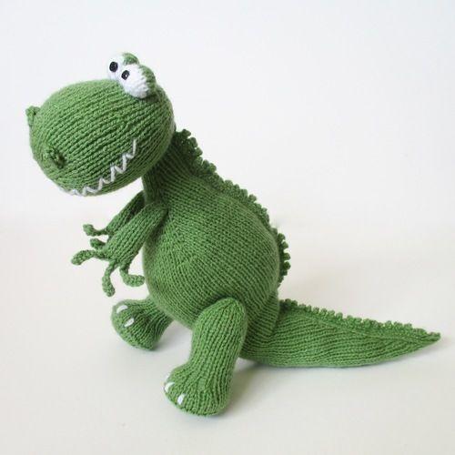 Makerist - Trex and Bronty Dinosaurs - Knitting Showcase - 3