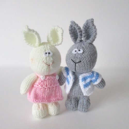 Makerist - Harry and Hatty Hare - Knitting Showcase - 1