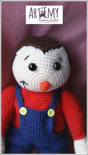 Makerist - Tchoupi, l'ami des tous petits - Créations de crochet - 1