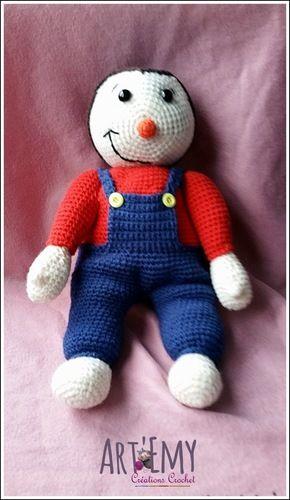 Makerist - Tchoupi, l'ami des tous petits - Créations de crochet - 2