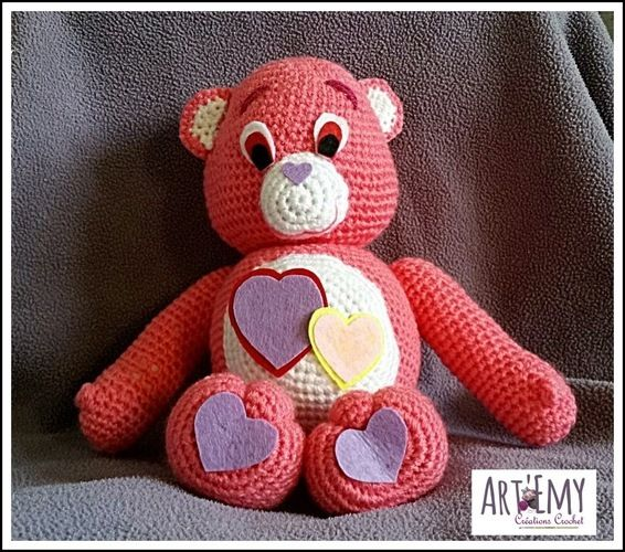 Makerist - Un Bisounours d'Amour pour la Saint Valentin - Créations de crochet - 1