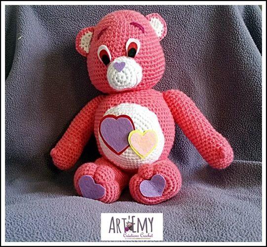 Makerist - Un Bisounours d'Amour pour la Saint Valentin - Créations de crochet - 2