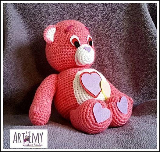 Makerist - Un Bisounours d'Amour pour la Saint Valentin - Créations de crochet - 3