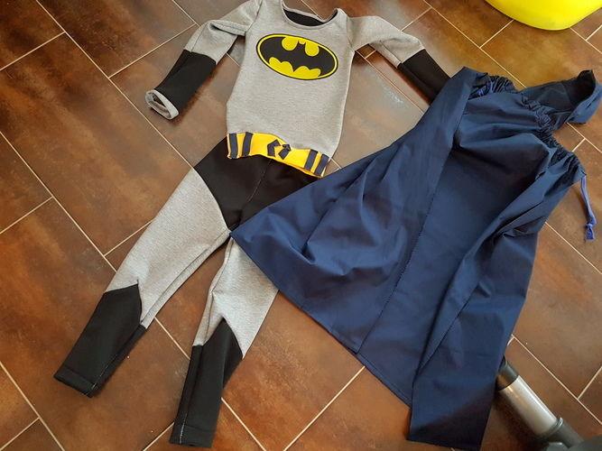 Makerist - Batman Kostüm - Nähprojekte - 1