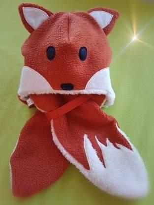 Makerist - Fuchs Mütze und Schal - 1