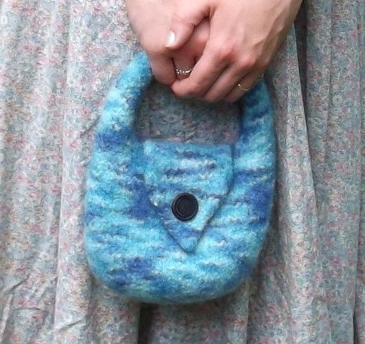 Makerist - Charlotte Felt bag - Knitting Showcase - 1