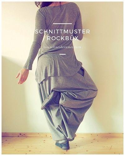 Makerist - Rockbüx für mich - Nähprojekte - 1