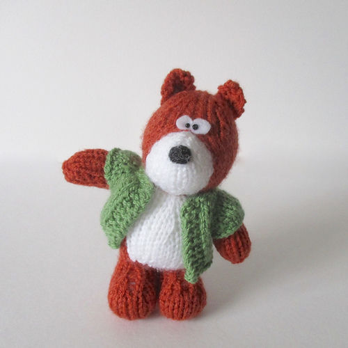 Makerist - Robbie the Fox - Knitting Showcase - 1