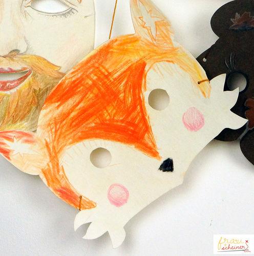 Makerist - Fuchs Maske - DIY-Projekte - 1