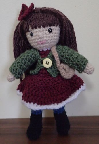 Makerist - Janice the January Doll - Crochet Showcase - 1