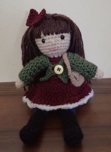 Makerist - Janice the January Doll - Crochet Showcase - 2