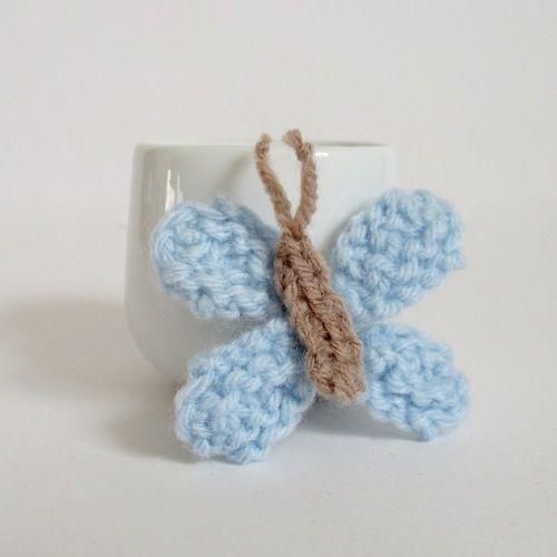 Makerist - Teeny Butterfly - Knitting Showcase - 1