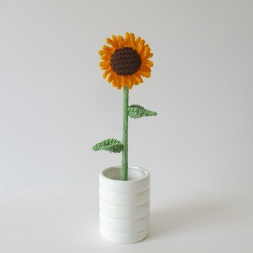 Makerist - Sunflower - Knitting Showcase - 1