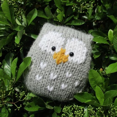 Makerist - Stuffy Owl - Knitting Showcase - 1