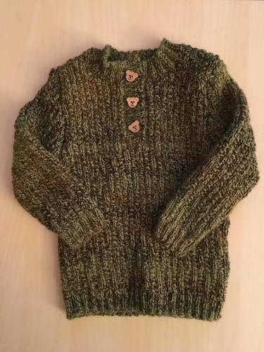 Makerist - Pullover mit Teddyknöpfen - Strickprojekte - 1