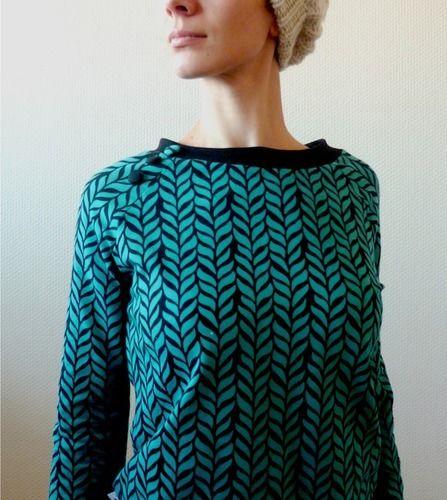 Makerist - Sweat du livre Dressing Chic revisite les 70's, pour femme - Créations de couture - 1