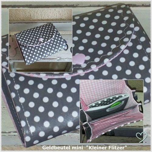 Makerist - Kleiner Flitzer - Geldbeutel für die Jackentasche - Nähprojekte - 1
