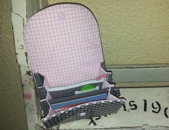 Makerist - Kleiner Flitzer - Geldbeutel für die Jackentasche - Nähprojekte - 3