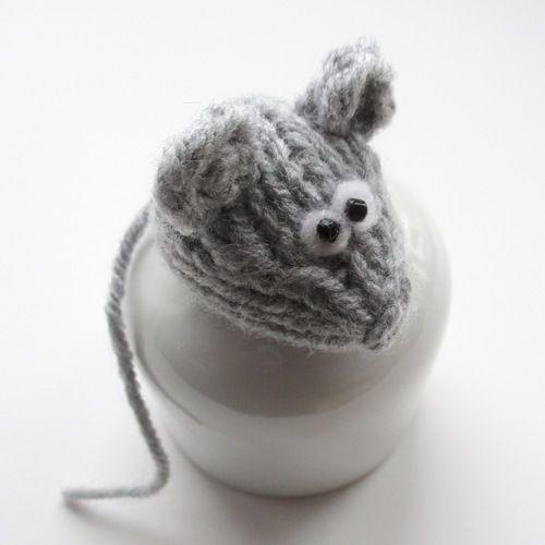 Makerist - Teeny Mouse - Knitting Showcase - 1