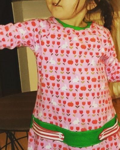 Makerist - Alma für das kleine Mädchen.  - Nähprojekte - 1