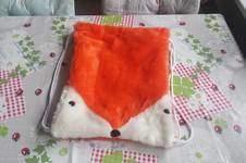 """Makerist - Rucksack """" Fuchs"""" , aus Fleecestoff genäht, für meine Tochter und Enkelin - 1"""