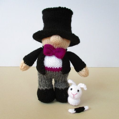 Makerist - Marvo the Magician - Knitting Showcase - 1