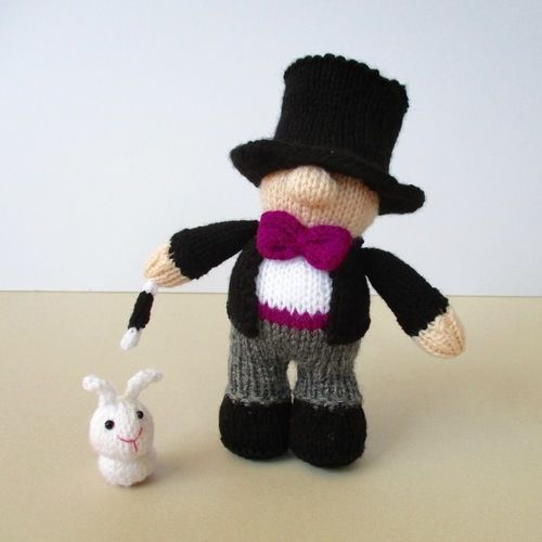 Makerist - Marvo the Magician - Knitting Showcase - 3