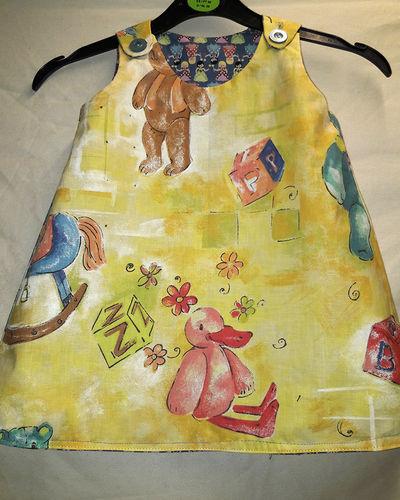 Makerist - reversible drees - Sewing Showcase - 2