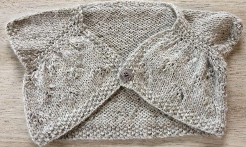 Makerist - boléro en laine alpaga pour filles de 2 ans à 8 ans - Créations de tricot - 1