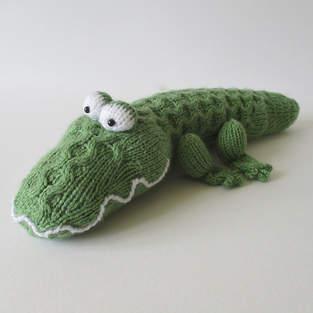 Makerist - Miles the Crocodile - 1
