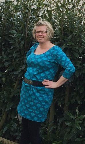 Makerist - Jersey Kleid 👗 von jolijou (videoanleitung) - Nähprojekte - 1