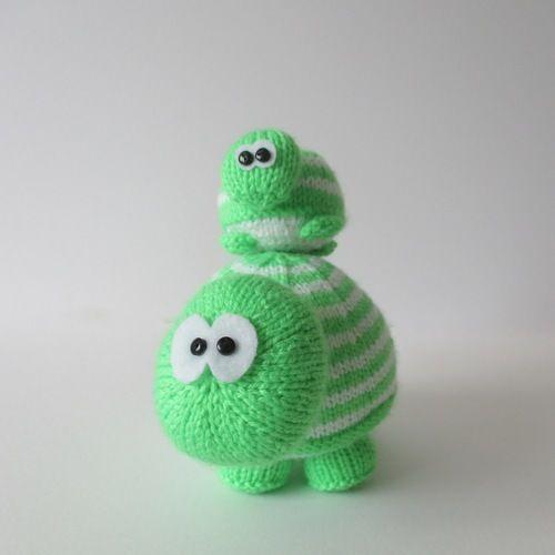 Makerist - Tim and Tom Turtle - Knitting Showcase - 1