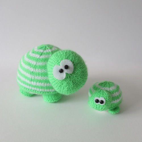 Makerist - Tim and Tom Turtle - Knitting Showcase - 2