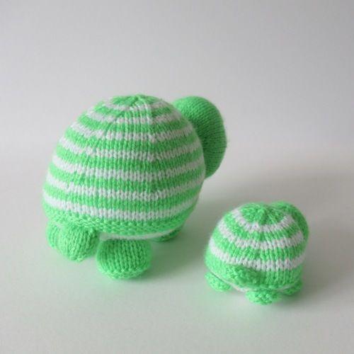Makerist - Tim and Tom Turtle - Knitting Showcase - 3