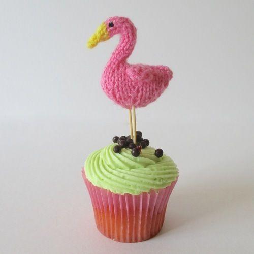 Makerist - Teeny Flamingo - Knitting Showcase - 1