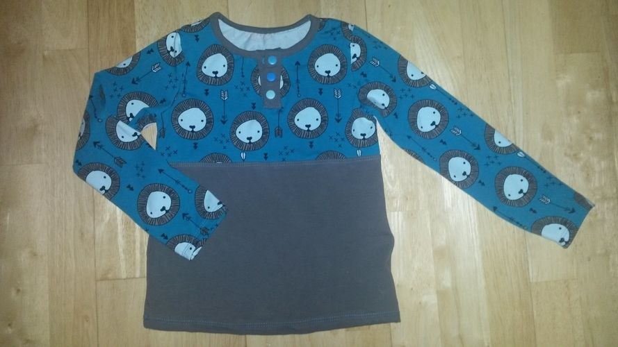 Makerist - Leo-Jerseyshirt fürs Söhnchen  - Nähprojekte - 1