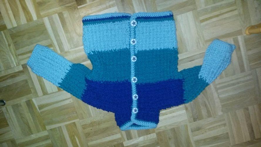 Makerist - Winterjäckchen für meinen Sohn - Häkelprojekte - 1