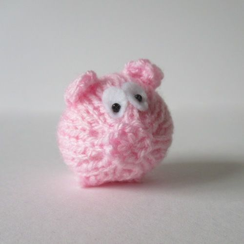 Makerist - Tiny Piggy - Knitting Showcase - 1