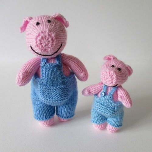 Makerist - Pop and Pip Pigs - Knitting Showcase - 1
