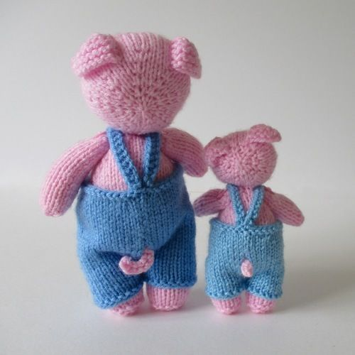 Makerist - Pop and Pip Pigs - Knitting Showcase - 2