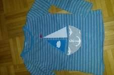 Makerist - Applikation Segelschiff auf gekauftem Shirt - 1