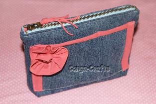 Makerist - Tasche Jeanny aus 98 % recyceltem Material - 1